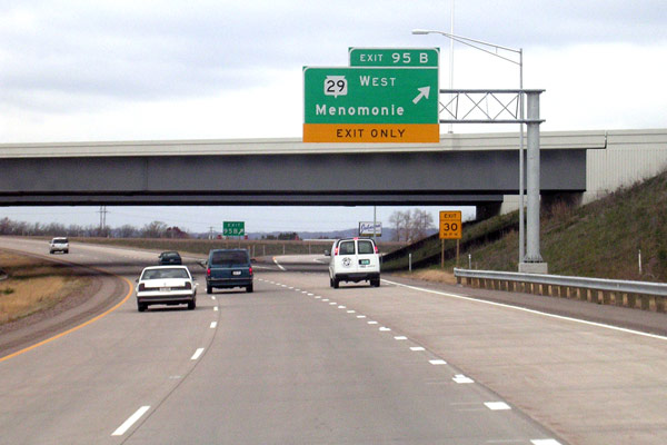 Wisconsin Highways: BY...I 95 Exit 29